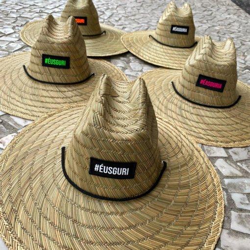 Chapéus de palha Patch #éusguri