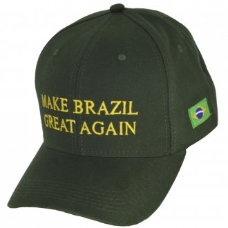 Imagem - Boné Big Cap Make Brazil Great Again cód: 366