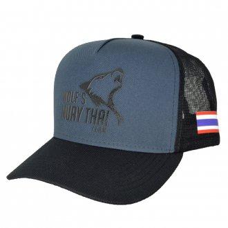 Imagem - Boné Big Cap Wolf's Muay Thay (EXPOSIÇÃO) cód: 589
