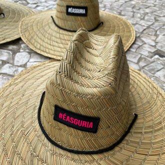 Imagem - Chapéus de palha Patch #éasguria cód: 735