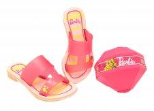 Imagem - Chinelo Barbie Infantil 21825 cód: 055599