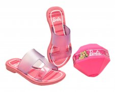 Imagem - Chinelo Barbie Infantil 21825 cód: 055598