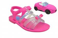 Imagem - Sandália Barbie Pink Car 22166 Infantil cód: 130016