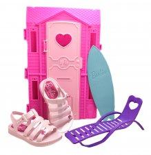 Imagem - Sandália Infantil Barbie 21832 cód: 055600