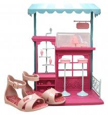 Imagem - Sandália Infantil Barbie 21921 cód: 054371