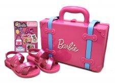 Imagem - Sandália Infantil Barbie 22025 cód: 057999
