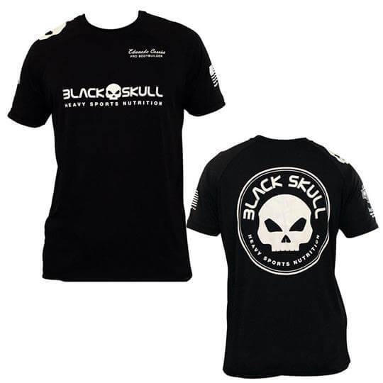 Camiseta Dry Eduardo Corrêa - Black Skull