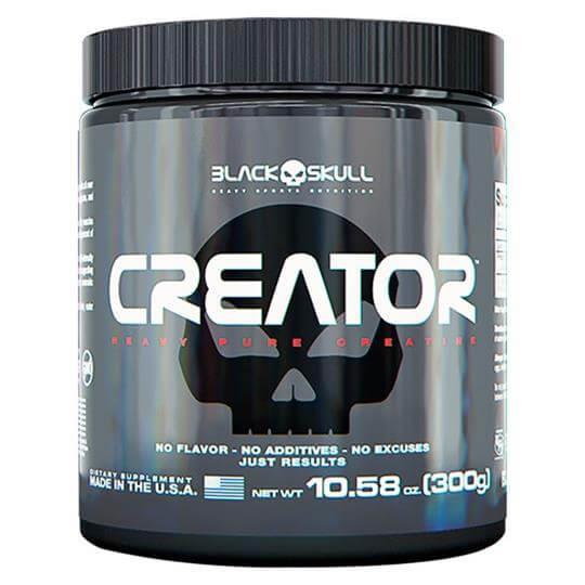 Creator Creatina (300g) - Black Skull