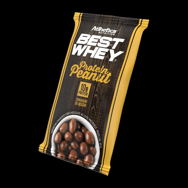 Best Whey Protein Peanut (Unidade-50g) Atlhetica Nutrition