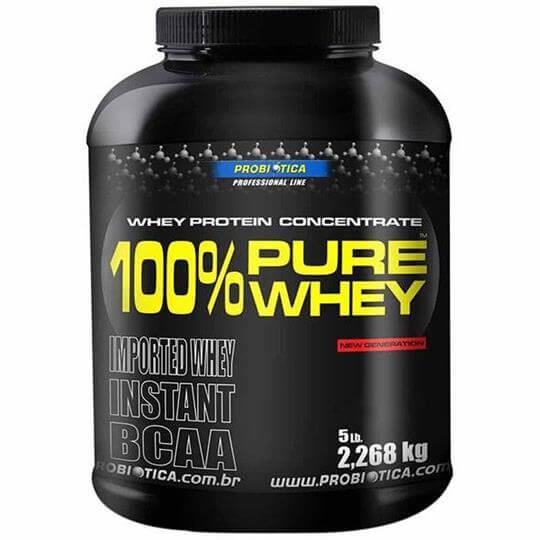 100% Pure Whey Protein (2268g) - Probiótica - Chocolate