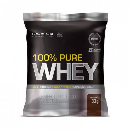 100% Pure Whey Protein (Sachê 33g) - Probiótica | LIQUIDAÇÃO