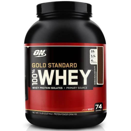 100% Whey Protein Gold Standard (2273g) - Optimum Nutrition