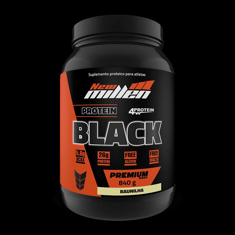 Protein Black 4w (840g) New Millen-Chocolate