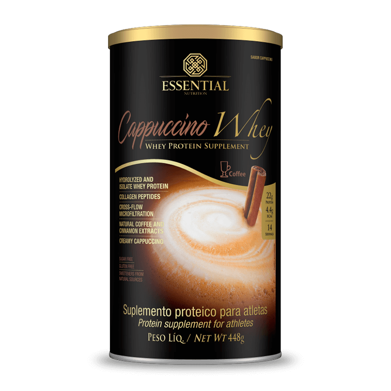 Cappuccino Whey (448g) Essential Nutrition