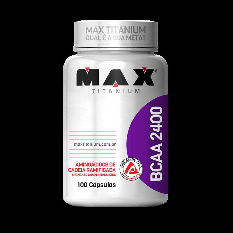 BCAA 2400mg Titanium (100caps) Max Titanium