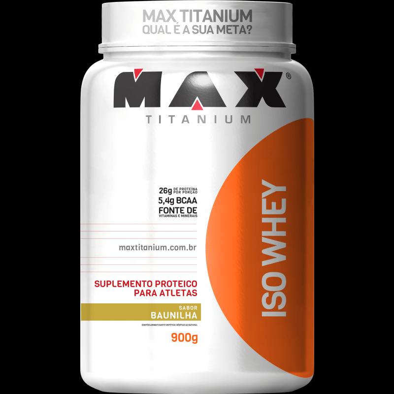 Iso Whey (900g) Max Titanium