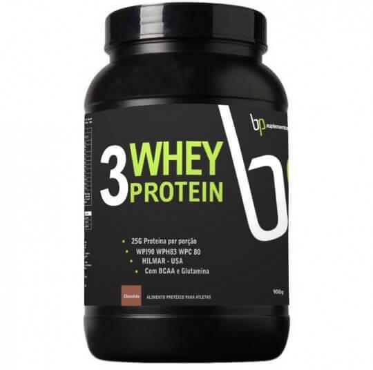3 Whey Protein (900g) - BP Suplementos