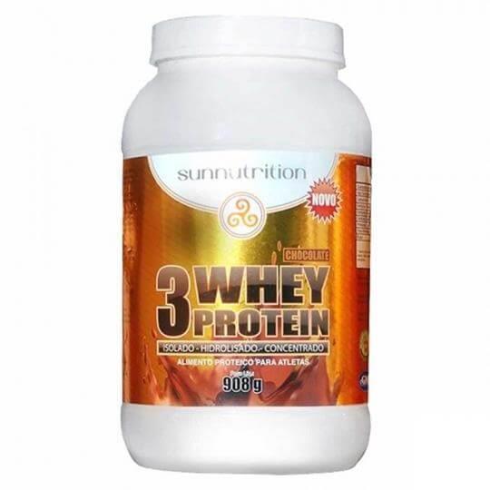 3 Whey Protein (908g) - Sunnutrition