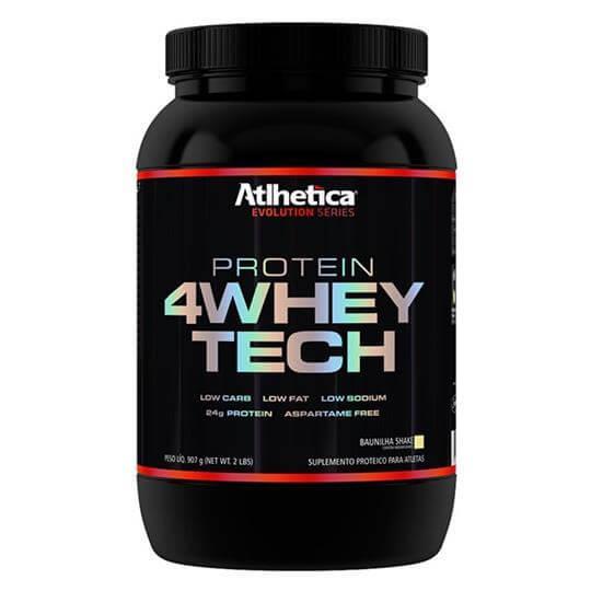 4 Whey Tech (907g) - Atlhetica Nutrition