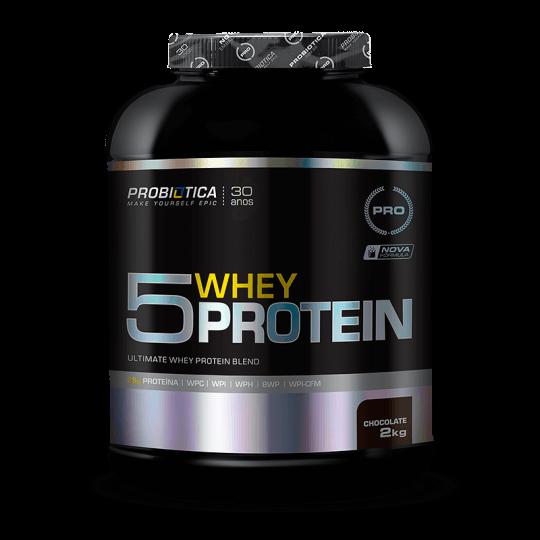 5 Whey Protein (2000g) Probiótica