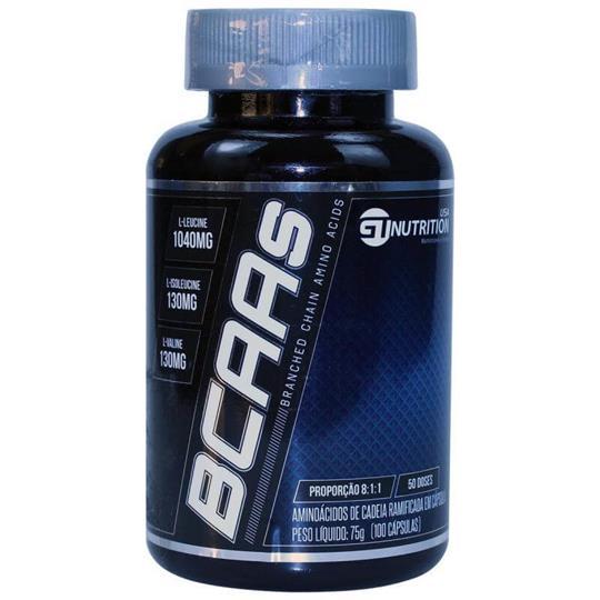 BCAAs 8:1:1 (100 caps) GT Nutrition USA