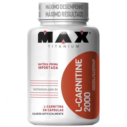 L-Carnitina 2000 (120caps) Max Titanium