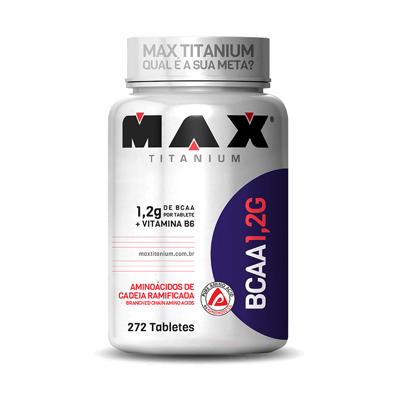 BCAA 1.2g (272tabs) Max Titanium