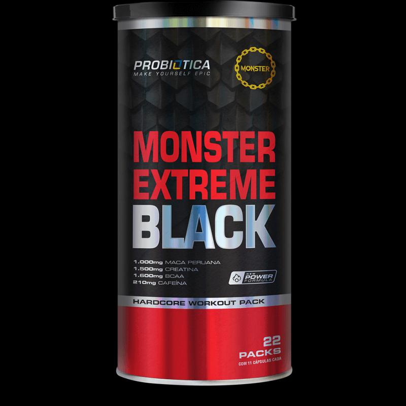 Monster Extreme Black (22 packs) Probiótica