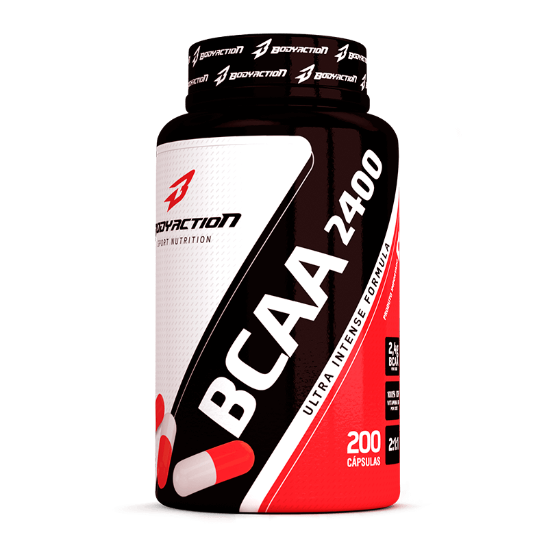 BCAA 2400 (200caps) Body Action