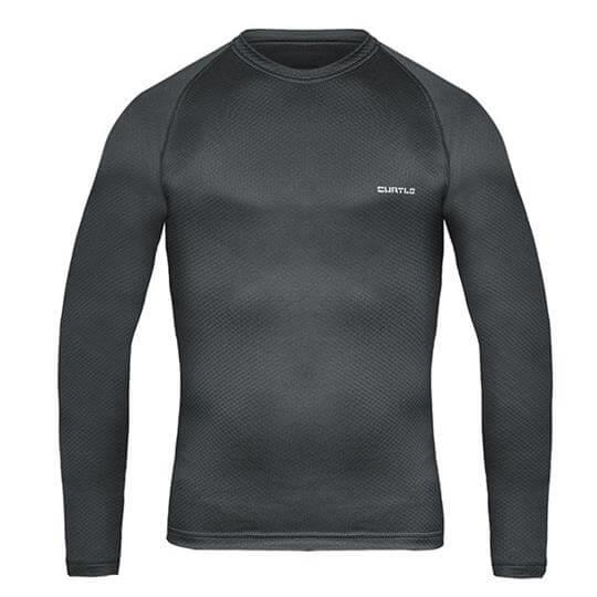 Camiseta Thermo Skin Manga Longa (Chumbo) - Curtlo