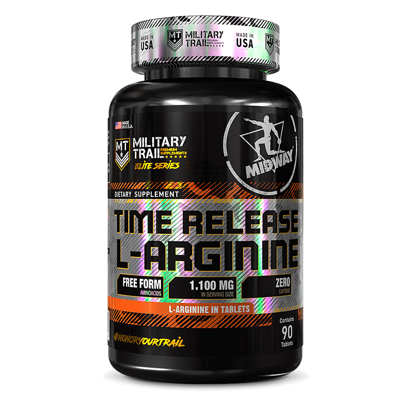 Time Release L-Arginine (90tabs) Military Trail