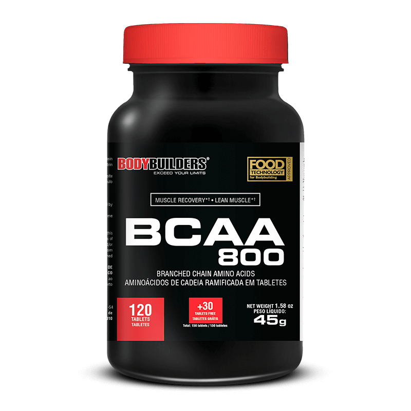Bcaa 800 (120caps) BodyBuilders