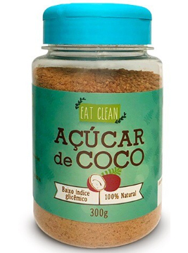Açúcar de Coco 300g - Eat Clean