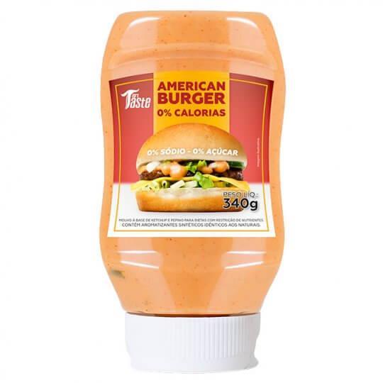 American Burger (340g) - Mrs Taste   LIQUIDAÇÃO
