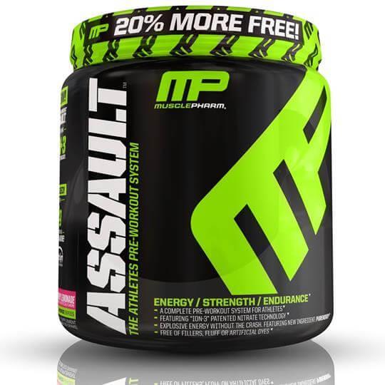 Assault (522g) - Muscle Pharm