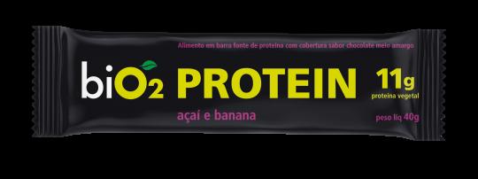 Barra de Proteína Açaí e Banana 40g - BiO2