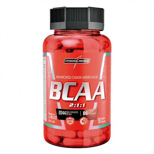 BCAA 2:1:1 - 2044mg (90caps) - Integralmédica