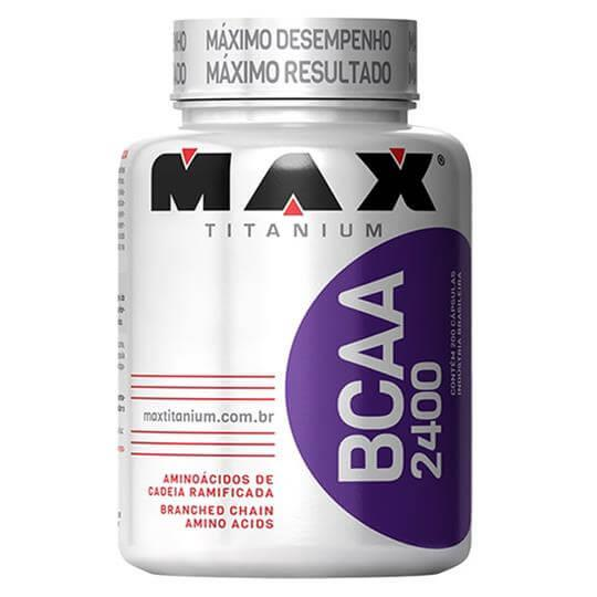BCAA 2400 (200 caps) - Max Titanium