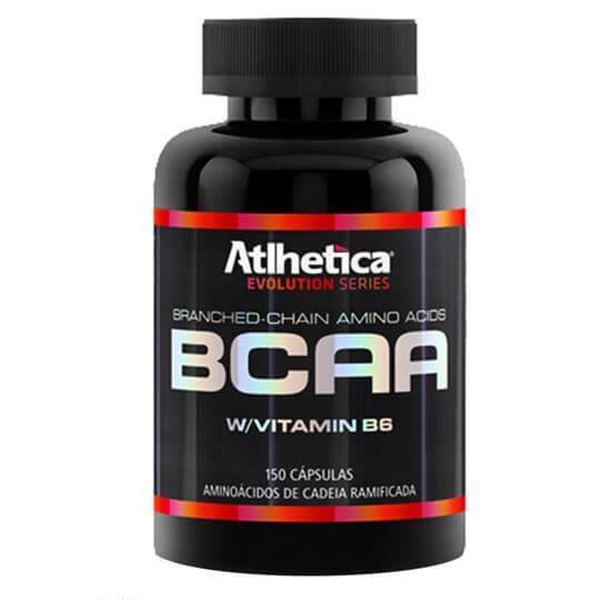 BCAA c/ Vitamina B6 (150caps) - Atlhetica Nutrition