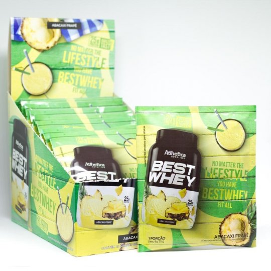 Best Whey (15 Sachê de 35g) Atlhetica Nutrition
