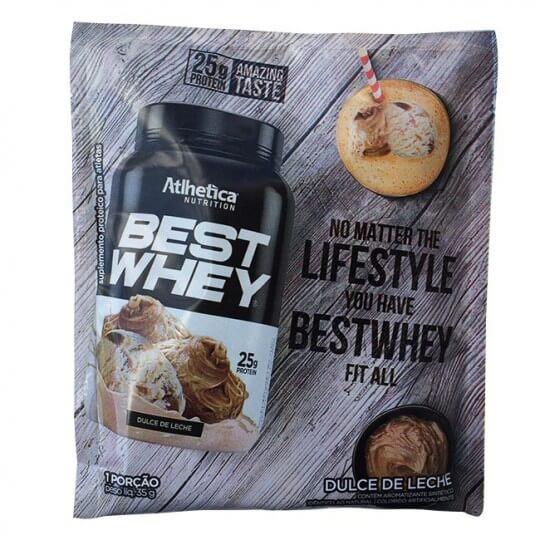Best Whey (35g) - Atlhetica Nutrition