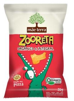 Biscoito Zooreta Cacau 20g - Mãe Terra