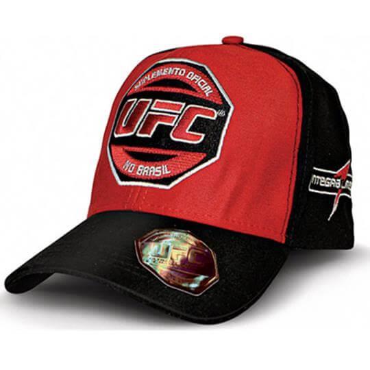 Boné UFC (vermelho/preto) - Integralmédica