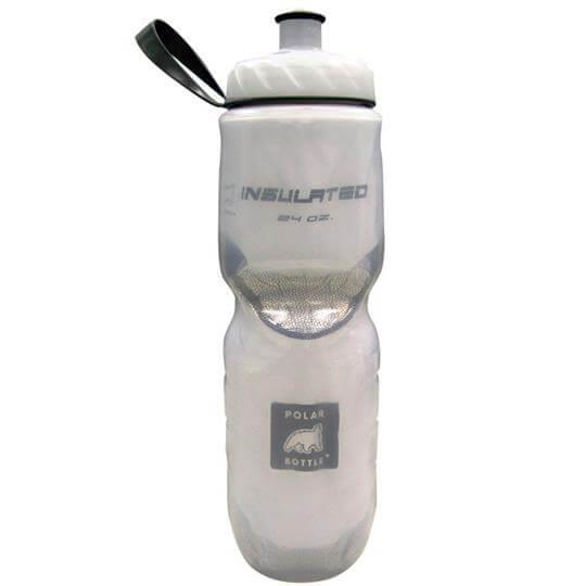 Garrafa Térmica Branca (710ml) - Polar Bottle