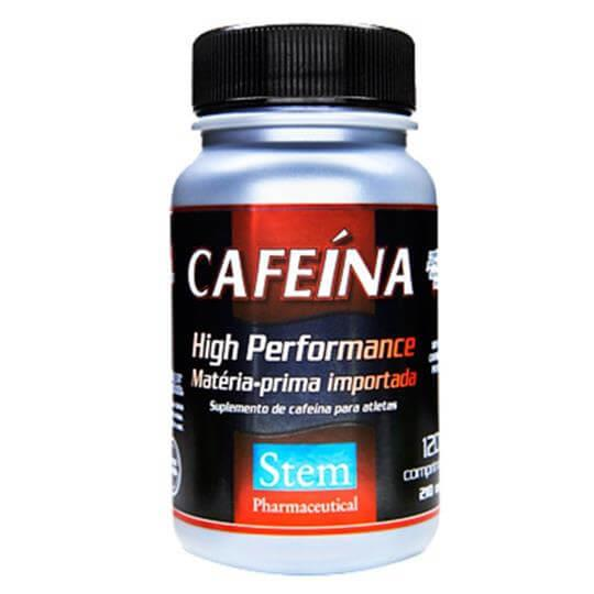 Cafeína 210mg (120comp) - Stem