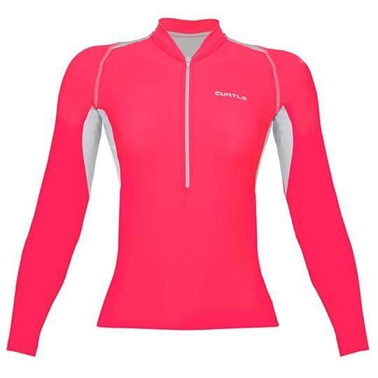 Camiseta Ciclismo Feminina Sprinter II ML VBK125 - Curtlo