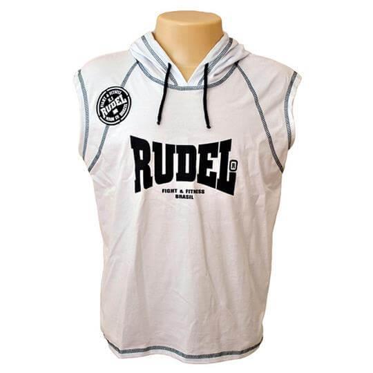 Camiseta sem Manga Com Capuz - Abrigo Boxer - Rudel