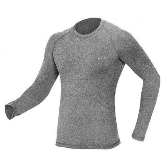 Camiseta Thermo Sense Manga Longa (Cinza Mescla) - Curtlo
