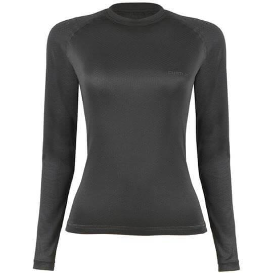 Camiseta Thermo Skin Feminina Manga Longa (Preta) - Curtlo