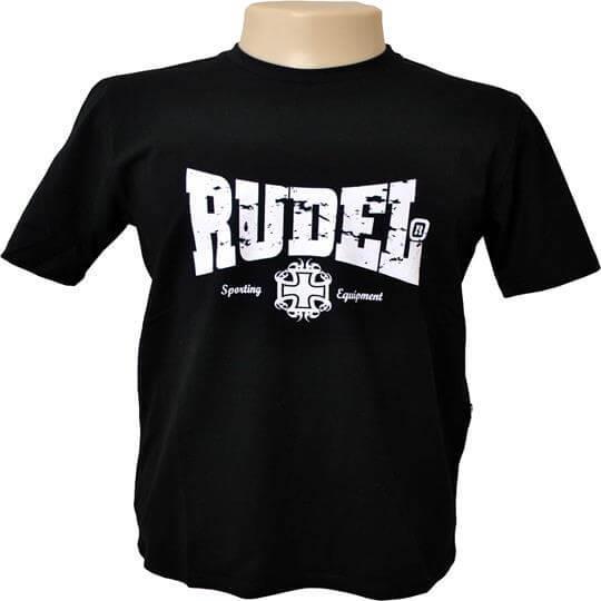Camiseta Básica Serial Fight (Preta) - Rudel